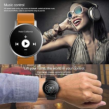 Oshide SMA-09 1.28 Pulgadas Bluetooth Llamando Música Reproducción ...