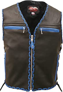 product image for HILLSIDE USA LEATHER INC. The Elite Braided Vest