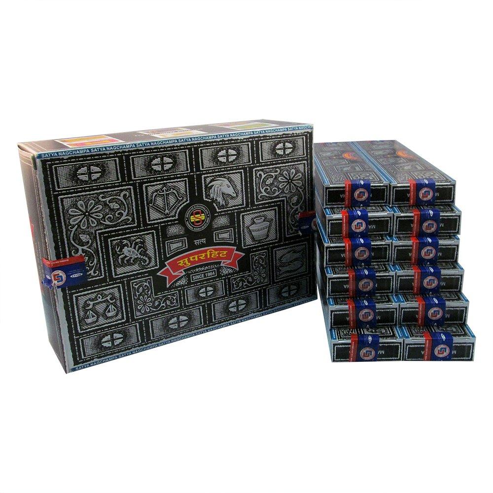 Super Hit Incense Sticks 480g (12pkgs. x 40g) Satya Sai Baba