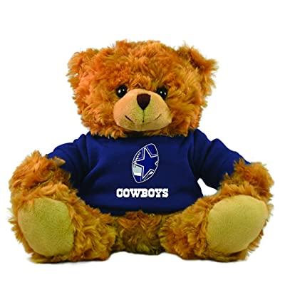 NFL Dallas Cowboys Hoodie Bear, Brown, 9-inch: Sports & Outdoors