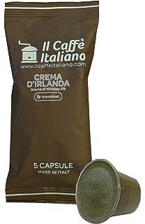 Il Caffè Italiano Café al Sabor de Crema de Irlanda Compatible con Nespresso - 50 Cápsulas