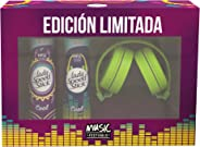 Lady Speed Stick Desodorante Music Festival, 91 Gr, 2 Piezas + Audifonos Verde, Pack of 1