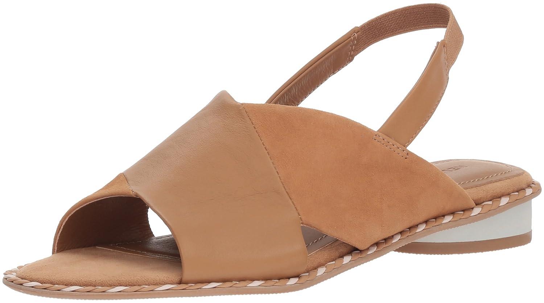 Kelsi Dagger Brooklyn Women's Saline Flat Sandal B076XG967G 11 B(M) US|Tan