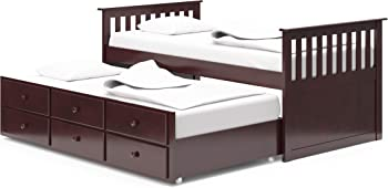 3.Broyhill Kids Captain's Bed Marco Bed Island with Drawers