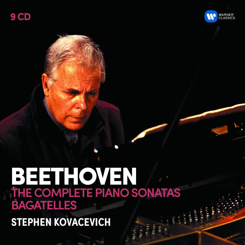 CD : Stephen Kovacevich - Beethoven: The 32 Piano Sonatas Bagatelles (9PC)