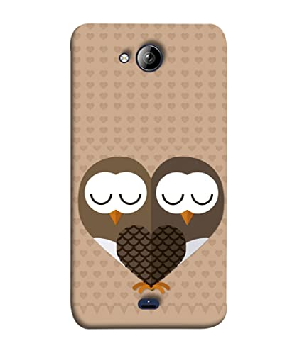 huge selection of 95632 45615 Micromax Bolt Q338 Back Cover Owl Mirror Image Design: Amazon.in ...