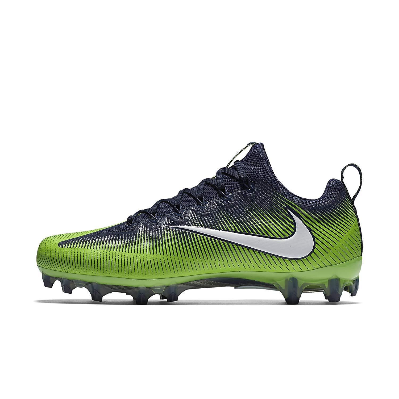 9126b64b43b25 Galleon - Nike Men's Vapor Untouchable Pro Football Cleats (13 D(M) US,Navy/Action  Green/White)
