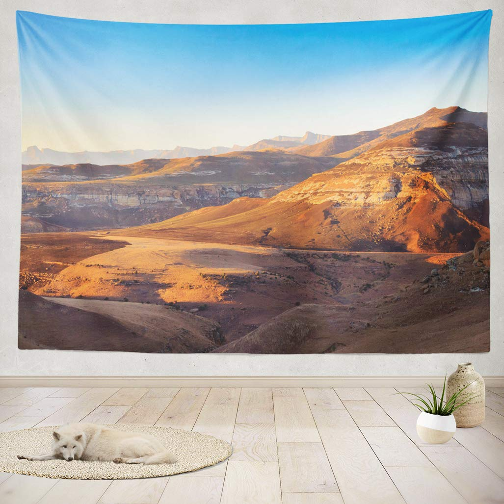 Asoco tapestry wall handing golden gate highlands national park panorama south africa african landscape wall tapestry for bedroom living room tablecloth