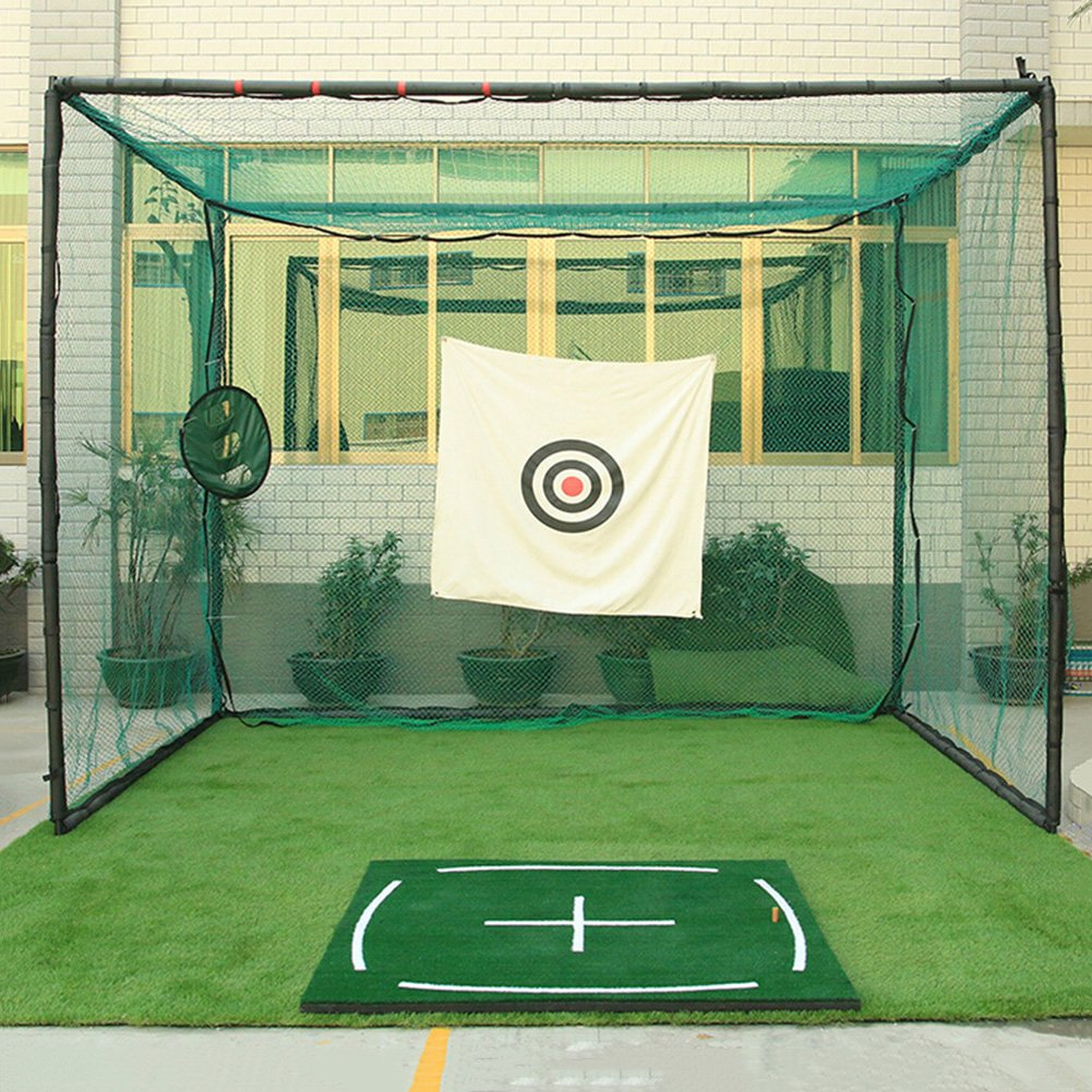 PGM Golf Course Hitting Mat Driving Range Practice Mat----4.92FT X 4.92FT, With Alignment Line, Teaching Equipments by PGM (Image #4)
