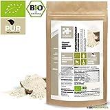 NATURTEIL - BIO FLOHSAMENSCHALEN GEMAHLEN / Superfood, Psyllium Seeds Husks Powder Organic, Vegan - 100g