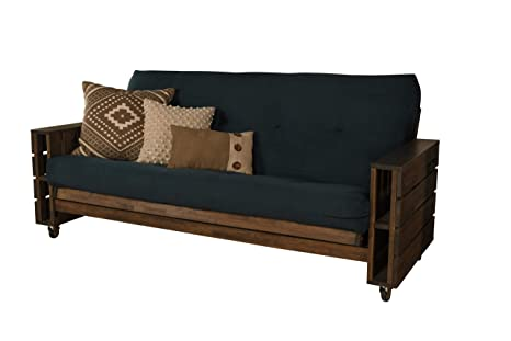 Amazon.com: Cordova Futons Stratton Pallet Rustic Walnut ...