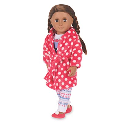 "Our Generation by Battat- Snuggle Up Deluxe Pajama Outfit- Toys, Doll Clothes & Accessories for 18"" Dolls-Ages 3 Years & Up: Toys & Games"