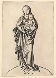The Museum Outlet - Madonna and Child with Apple (1470-1490) - Poster Print Online Buy (30 X 40 Inch)