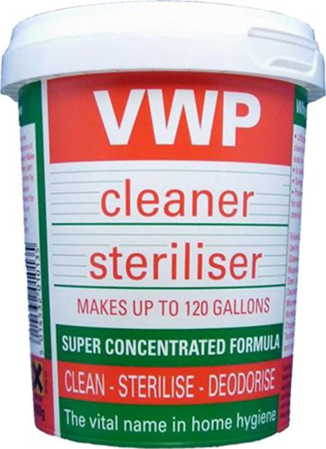 400g VWP Cleaner / Steriliser For Home Brew Beer Wine or Cider Making Home Brewers Heaven Ltd
