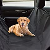 AK KYC Dog Pet Car Seat Cover Cargo Liner Universal Trucks SUV Hammock Convertible Waterproof Protector Black Durable
