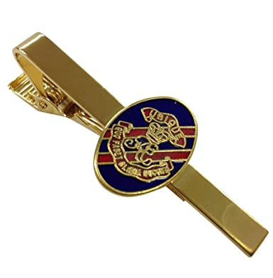 22262302f2cf Golden Tie Pin with Royal Artillery Emblem: Amazon.co.uk: Clothing