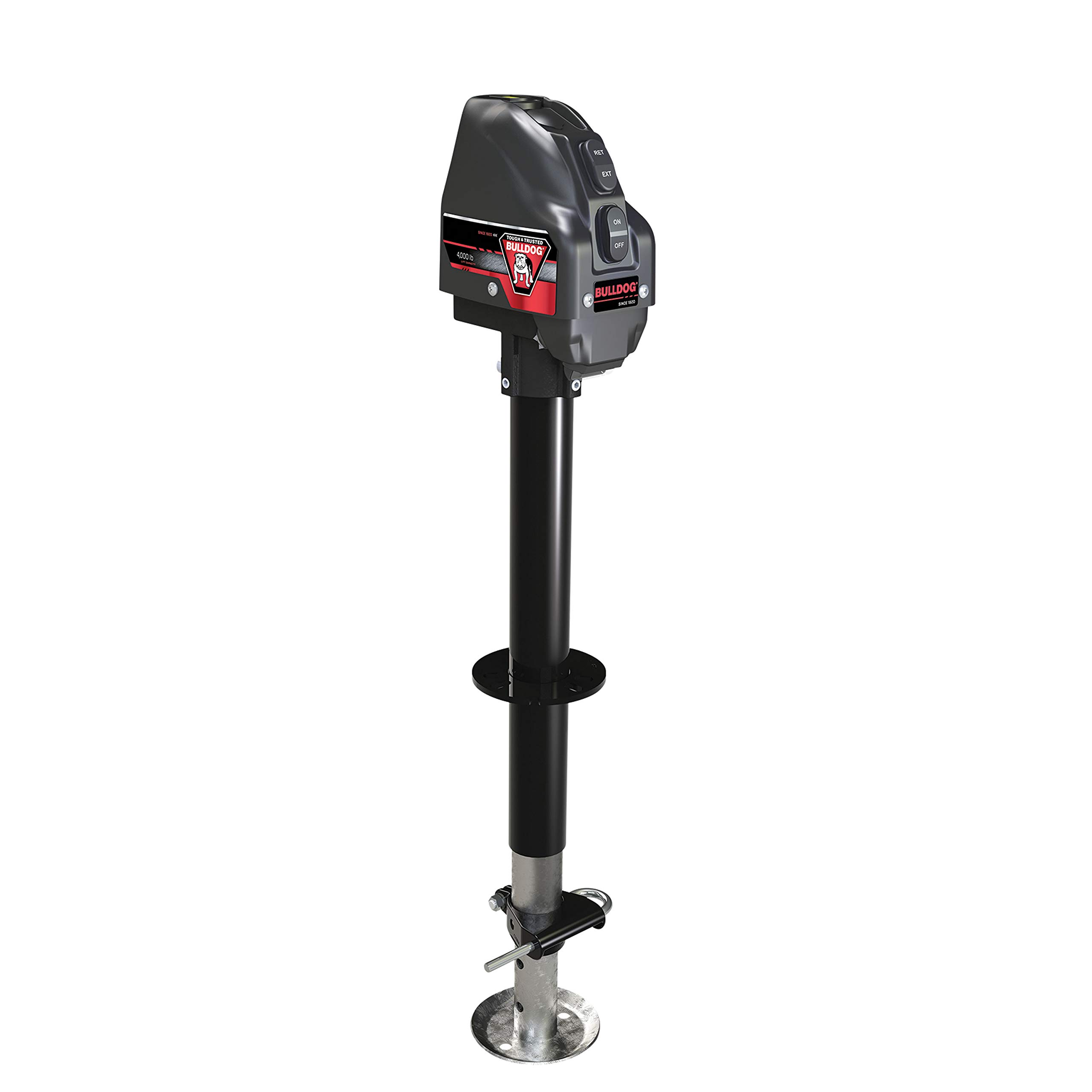 Bulldog Reese 500199 A-Frame Power Jack 4000# Black