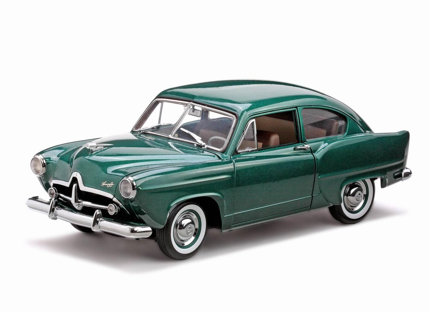 Amazon.com: 1951 Kaiser Henry J Platinum Diecast Car Model With ...