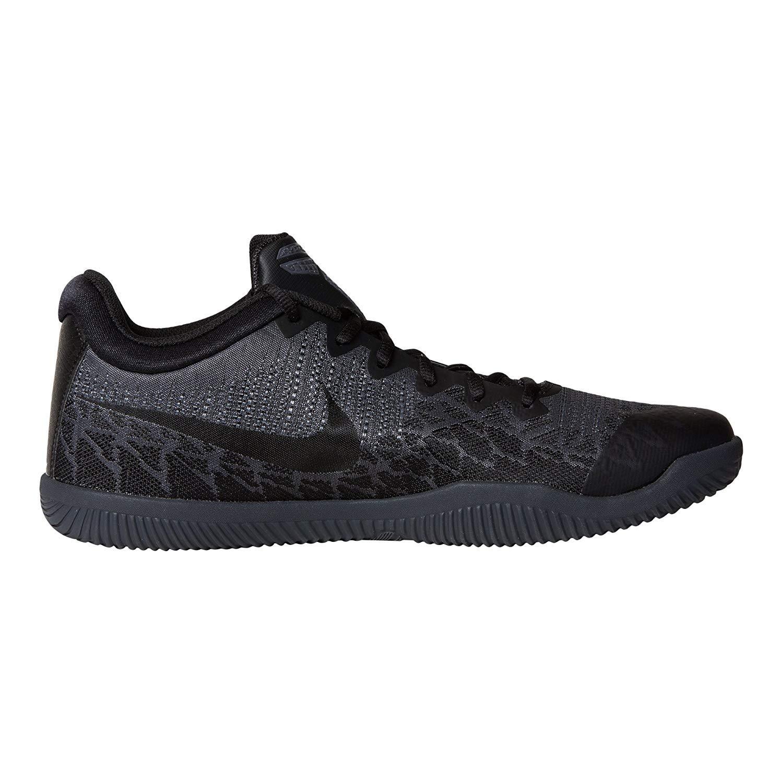 Nike Mens Kobe Mamba Rage Basketball Shoes 9, Black//Dark Grey-M