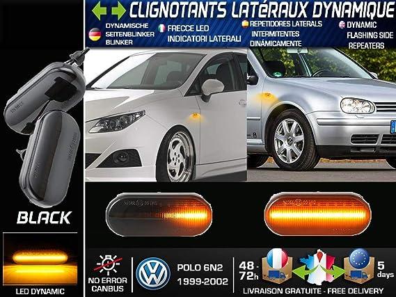 POLO 6N2 - Repetidor LED Dinámico Full Black: Amazon.es: Coche y moto