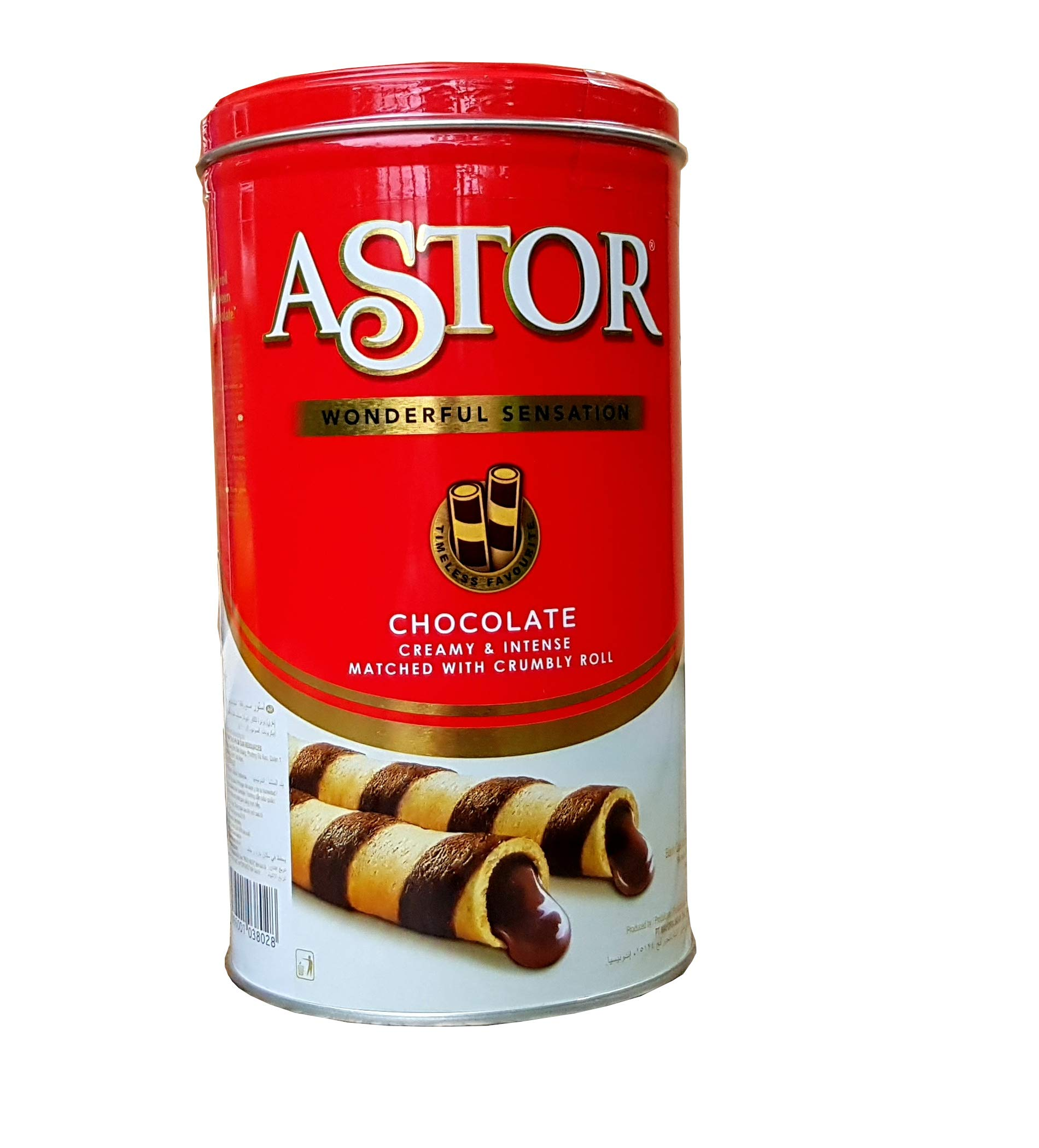 Astor Wafer Roll Filled with Chocolate