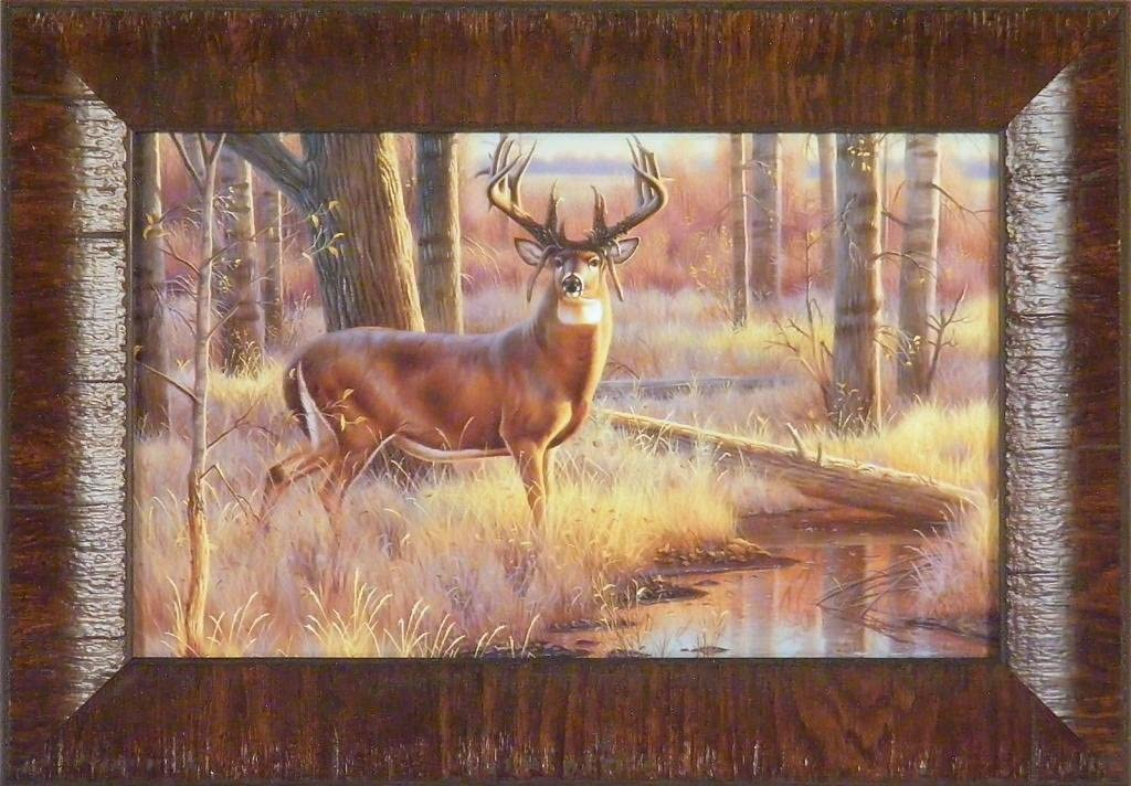 THE BRYANT BUCK King Of Bucks Collection by Cynthie Fisher 11x15 FRAMED PRINT