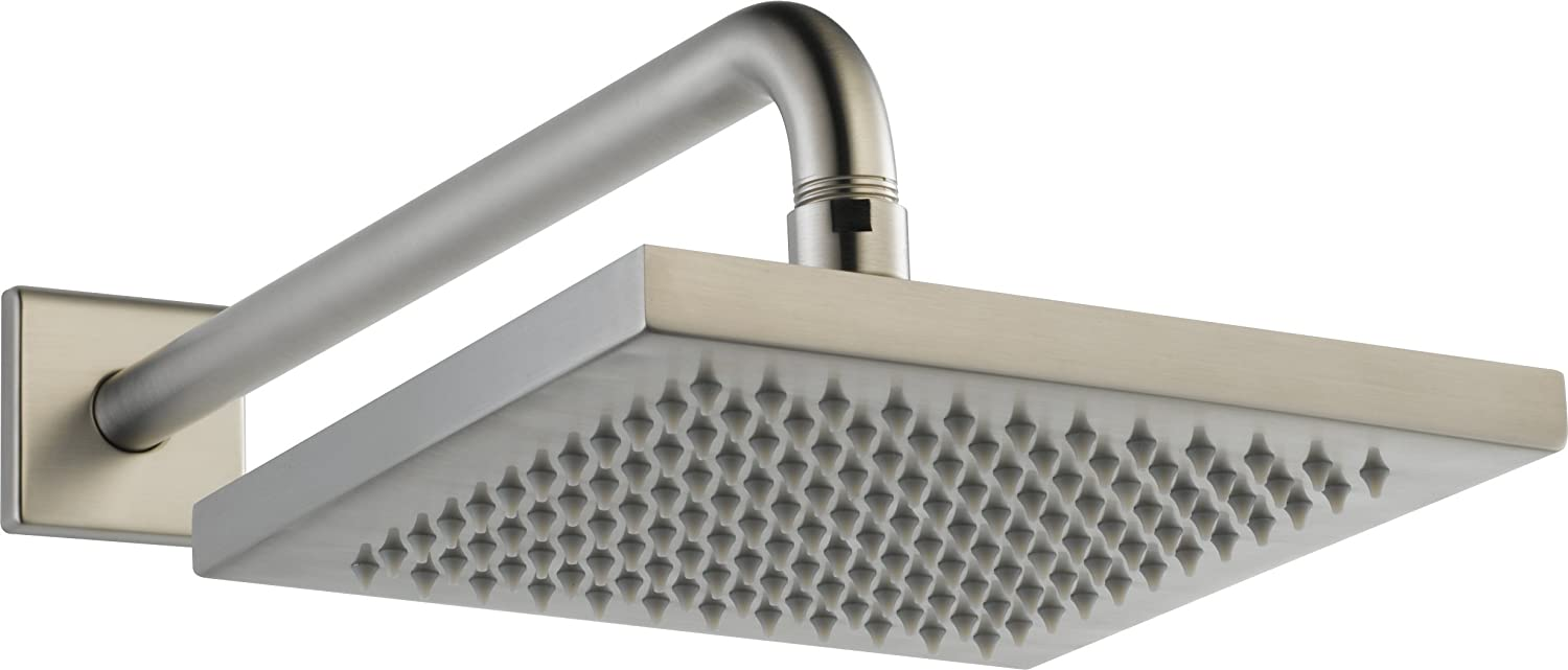 Delta 57740 SS Universal Showering Components, Touch Clean Raincan  Showerhead Assembly, Stainless   Rain Shower Head   Amazon.com