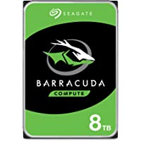 Seagate Barracuda Internal Hard Drive 8TB SATA 6Gb/s 256MB Cache 3.5-Inch (ST8000DM004)