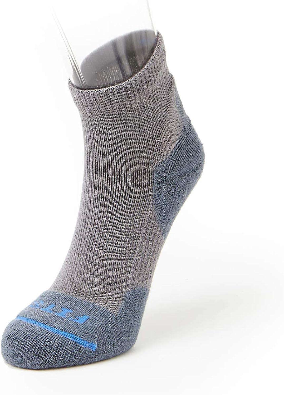3 PAIRS 70/% MERINO WOOL MENS QUARTER 1//4 HIKING SOCKS MADE IN USA MENS LARGE
