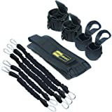 TOCO FREIDO MMA Boxing Training Resistance Band Set | Strength and Agility Resistance Bands Trainer with Belt, Ankle…