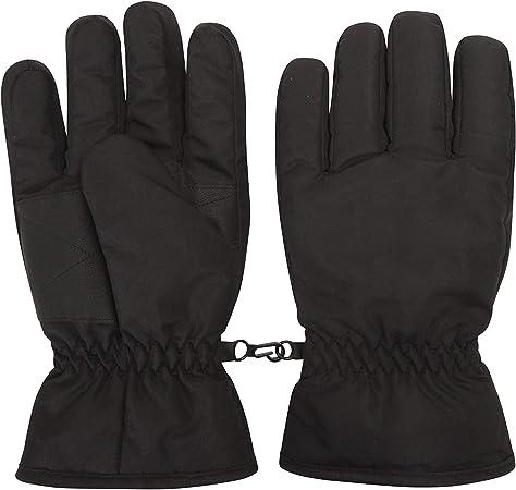 NEW Mountain Warehouse Kids/' Pink Snowproof Ski Gloves Medium M RRP £16.99 Child