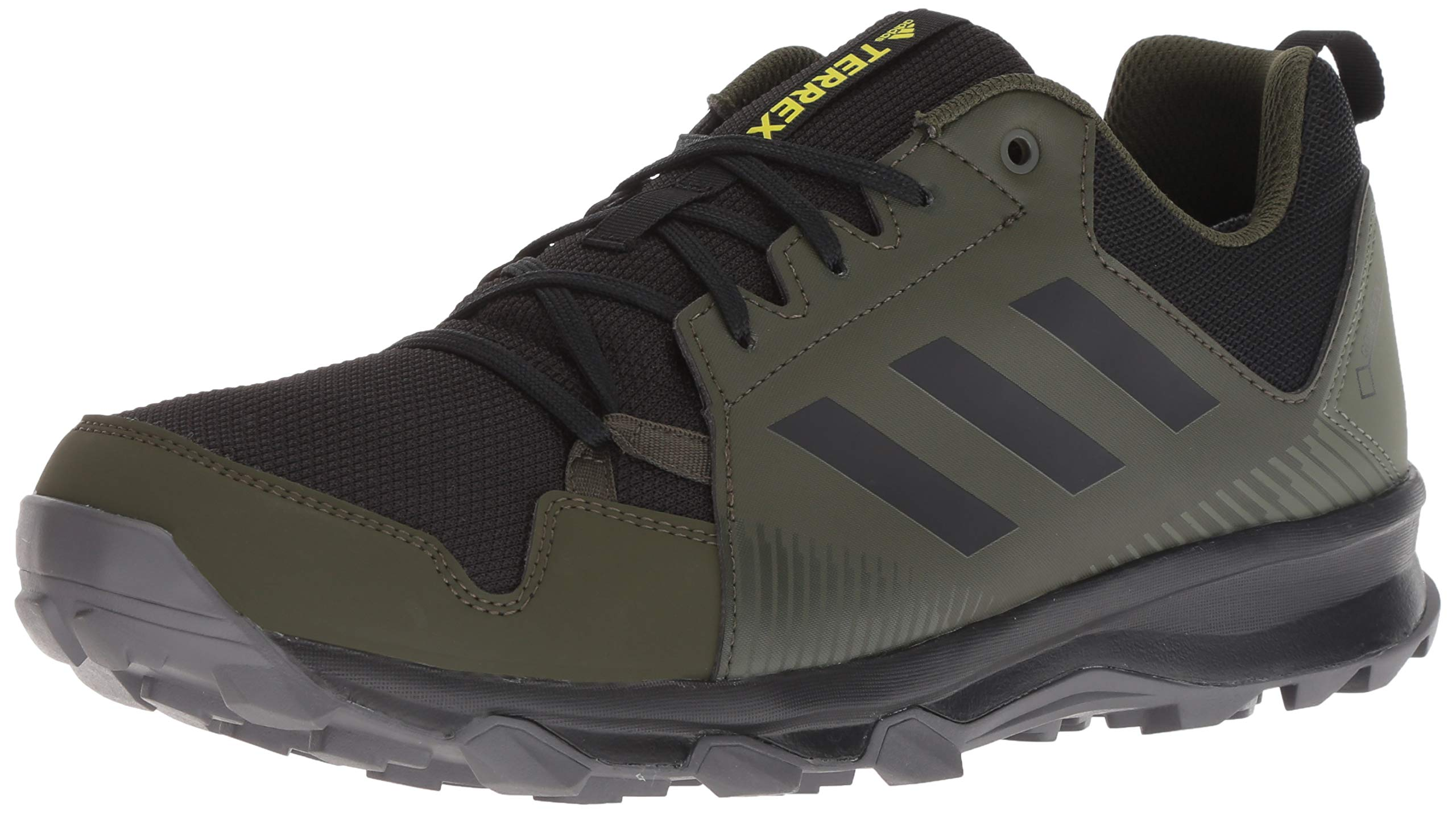 adidas outdoor Men's Terrex Tracerocker GTX, Base Green/Black/Night Cargo, 8.5 D US