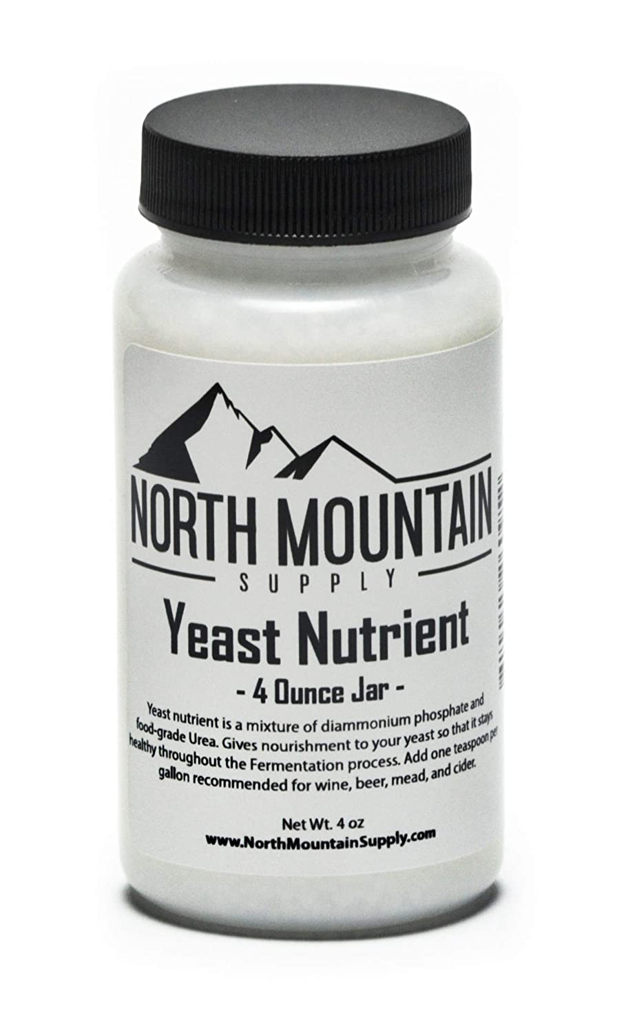 North Mountain Supply Food Grade Yeast Nutrient - 4 Ounce Jar
