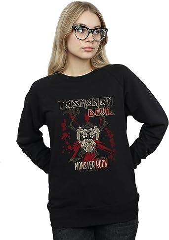 Looney Tunes Mujer Tasmanian Devil Monster Rock Camisa De ...