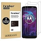 [2 Pack] Pellicola Vetro Temperato Motorola Moto G6 Plus [Garanzia a Vita], iVoler ** [Protezione Antigraffi] **Anti-riflesso Ultra-Clear** Ultra resistente in Pellicola Motorola Moto G6 Plus, Pellicola Protettiva Protezione Protettore Glass Screen Protector per Motorola Moto G6 Plus. Vetro con Durezza 9H, Spessore di 0,2 mm,Bordi Arrotondati da 2,5D