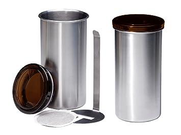 Kaffeepad-Dose ø 8,5 cm Höhe 16,5 cm
