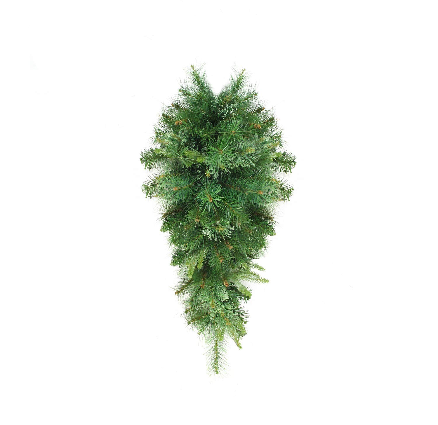 Northlight 36'' Cashmere Mixed Pine Artificial Christmas Teardrop Swag - Unlit by Northlight
