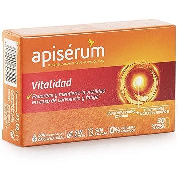 Apisérum Vitalidad Cápsulas - Favorece y mantiene la vitalidad en ...