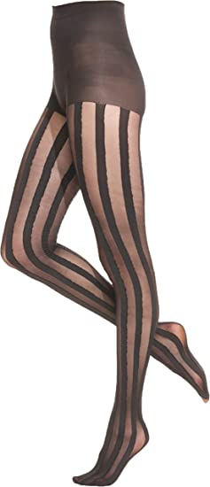 4b7de9f8c2917 Image Unavailable. Image not available for. Color: Hue Womens Illusion  Stripe Control Top ...