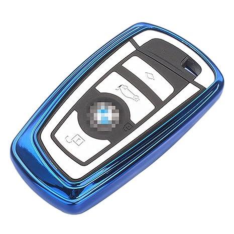 Amazon.com: Smart Funda de llave de coche BMW silicona suave ...