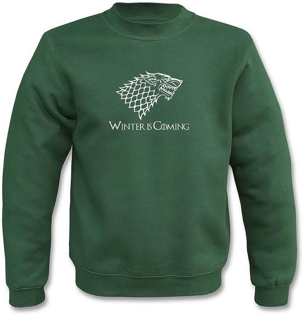 Winter is Coming Pullover Damen Sweatshirt Motiv für