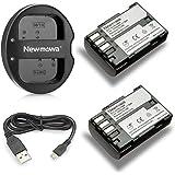 Newmowa D-LI90 互換バッテリー 2個+充電器 対応機種 Pentax D-LI90 Pentax 645D 645Z K-01 k-1 K-3 K-3 II K-5 K-5 II K-5 IIs K-7