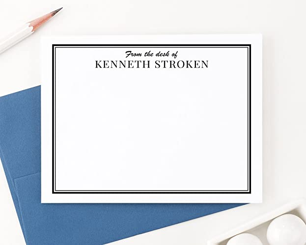 amazon com personalized stationery for men personalized from the