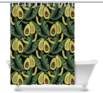 Amazon.com: InterestPrint Avocado and Tropical Leaves ...