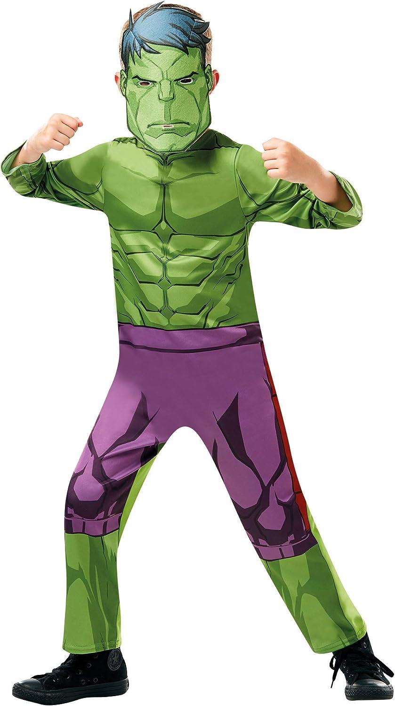 Rubies 640838TODD - Disfraz de los Vengadores de Marvel Hulk ...