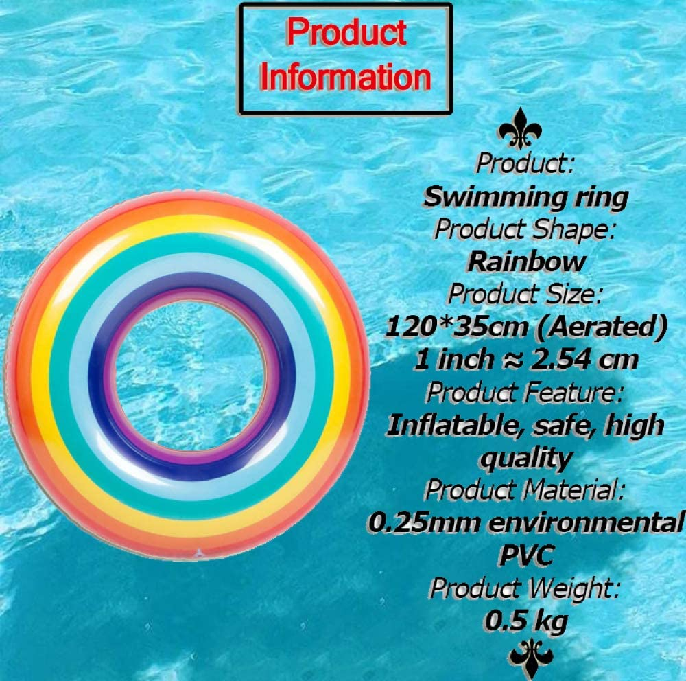 WATOTn Piscina Anillos Inflable Material Durable Anillo De ...