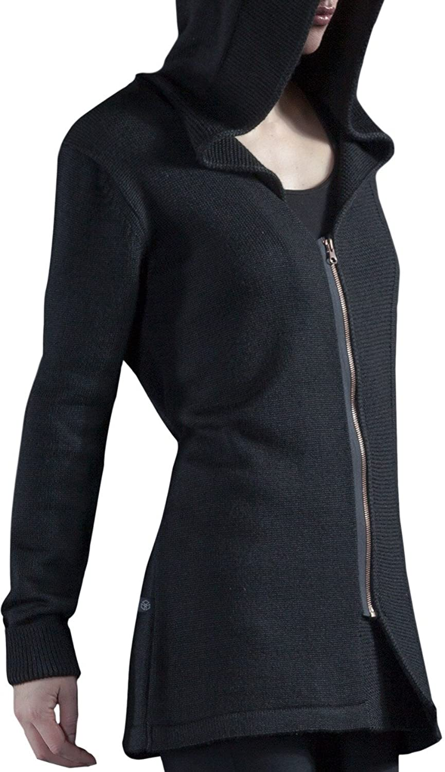 Assassin's Creed Women Fairfax Black Knit Cardigan Sweater - http://deluxeadultcostumes.com/womens-assassins-creed-costumes/