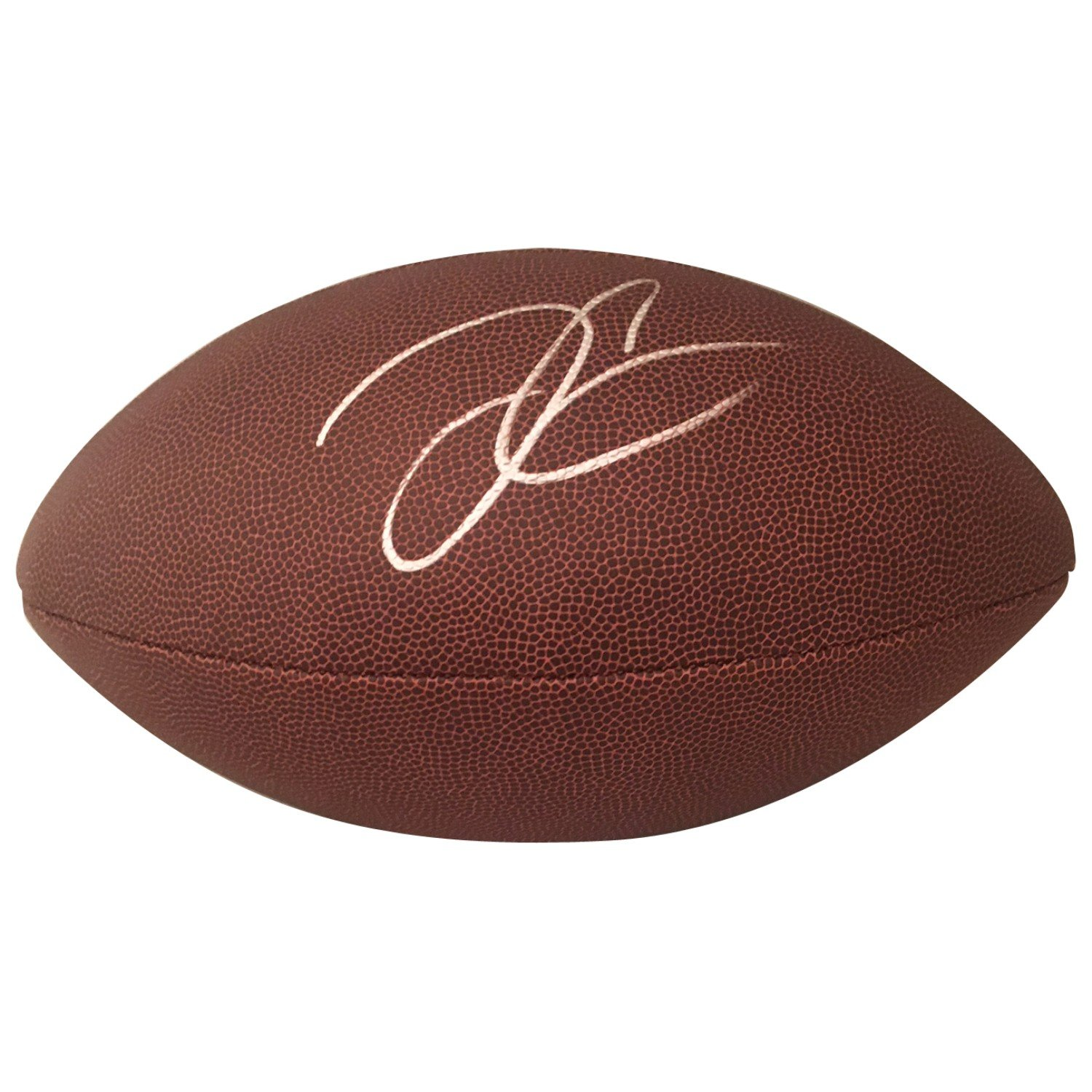 Derek Carr Autographed Oakland Raiders NFL Signed Football PSA DNA COA Powers Collectibles