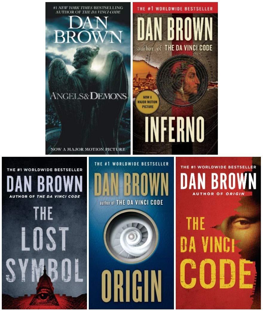 robert langdon series dan brown collection 20 books set angels and ...