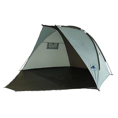 10T Outdoor Equipment 10T équipement d'extérieur Unisexe Porto Rico UV 50Plus Abri de plage, Bleu, 283x 240x 120cm